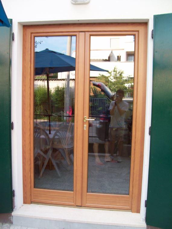 Finestre legno alluminio me ba porte e infissi fano - Finestre in alluminio e legno ...